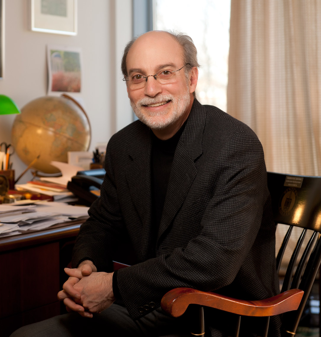 Portrait of Professor Aaron Nurick of Bentley University